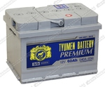 Легковой аккумулятор Тюмень 6СТ-60.0LA Premium (низк)