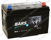 Легковой аккумулятор BARS 6СТ-100.0 VL (D31FL)