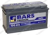 Легковой аккумулятор BARS 6СТ-100.1 VL Premium