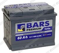 Легковой аккумулятор BARS 6СТ-60.0 VL Premium