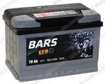 Легковой аккумулятор BARS 6СТ-70.0 VL EFB