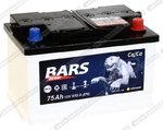 Легковой аккумулятор BARS 6СТ-75.0 VL (низкая)