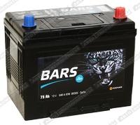 Легковой аккумулятор BARS 6СТ-75.0 VL (D26FL)