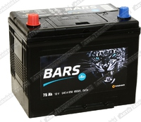 Легковой аккумулятор BARS 6СТ-75.1 VL (D26FR)