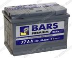 Легковой аккумулятор BARS 6СТ-77.1 VL Premium