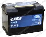Легковой аккумулятор Exide Excel EB740