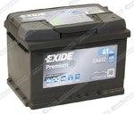 Легковой аккумулятор Exide Premium EA612 (низкий)