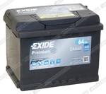 Легковой аккумулятор Exide Premium EA640