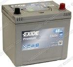 Легковой аккумулятор Exide Premium EA654 (D23FL)