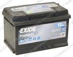 Легковой аккумулятор Exide Premium EA722 (низкий)