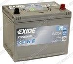 Легковой аккумулятор Exide Premium EA754 (D26FL)