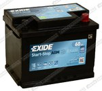Легковой аккумулятор Exide Start-Stop AGM EK600