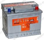 Легковой аккумулятор Titan Arctic Silver 6СТ-60.0 VL