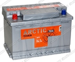 Легковой аккумулятор Titan Arctic Silver 6СТ-75.1 VL