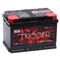 Легковой аккумулятор Trigger 6СТ-75.1 VL