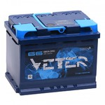 Легковой аккумулятор Veter 6СТ-66.0 VL