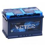 Легковой аккумулятор Veter 6СТ-77.0 VL (низкий)
