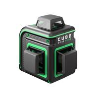 Нивелир лазерный CUBE 3-360 GREEN BASIC EDITION ADA