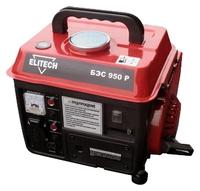 Бензогенератор ELITECH БЭС 950 Р