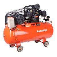 Компрессор PTR 100-670  ременной, 670лмин, 100л, 8 бар, 3кВт, 380В Patriot Power