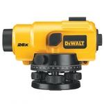 Нивелир оптический DW 096 PK  увеличение 26х,точн-2мм\1км,с\вырав1гр,1.72кг,чем,линейка, штатив ( DeWalt )
