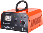 Зарядное устр-во BCI-10M   6-12В, ток зарядки 10А, емкость заряжаемых аккумуляторов 10-150Ач, 400Вт, 1.3кг   Patriot