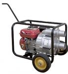 Мотопомпа RD-WP80D RedVerg   для грязной воды, 4,78кВт6,5л.с.; 196 куб.см; Loncin 168 FВ; 80 куб.мч;  напор-30м; высота всасывания 8м