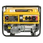 Генератор бензиновый GE 7900, 6,5 кВт, 220В50Гц, 25 л, ручной старт DENZEL