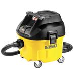 Пылесос  DWV 900 L   для сухой и влажной уборки класса L, 1400Вт, воздушный поток 4080лмин, бак 30л, шланг 2м х 32мм, 9.5кг, розетка   ( DeWalt )
