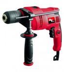 Дрель ударная RD-ID 850S RedVerg   850Вт; 0-3000обмин; БЗП 1,5-13мм; сталь-13мм,кирпич-18мм,дерево-35мм; реверс; бок.рукоятка; коробка; 2,4кг