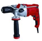Дрель ударная RD-ID1000/2S RedVerg   1000Вт, 0-10000-2800обмин, БЗП 13мм, дерево-25мм, кирпич-13мм,металл-13мм. реверс; бок.рукоятка, коробка
