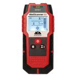 Детектор проводки ADA Wall Scanner 80 - обнаруж.:металл-80мм; дер.-20мм; проводка-50мм; медь-60мм