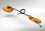Электрокоса TR-1500S   1200Вт, разъемн.прямая штанга,нож 3 зуб, леска 2,4мм, 4.9кг   CARVER