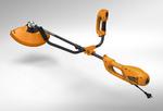 Электрокоса-кусторез TR-1500S/BH   1200Вт, разъемн.прямая штанга,велоруль,нож 3 зуб, леска 2,4мм, 5.5кг   CARVER