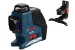 Нивелир лазерный GLL 3-80 P  проекции - 3 линии 360°, диапазон 40м, самонивелирование ± 4°, 0.2 ммм, 0.76кг  (BOSCH)