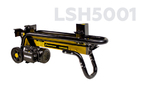 Дровокол Champion LSH5001 (2,2кВт, 5тонн 45,4кг, + насадка для колки дровна 4 части)