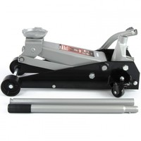 Домкрат гидравлический подкатный MATRIX MASTER 51045, 3,5 т, h подъема 145–490 мм, с педалью