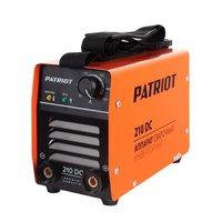 Сварочный инвертор PATRIOT 210 DC MMA